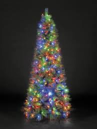 pre lit artificial christmas trees hometime snowtime 6 6 green pre lit new pine artificial