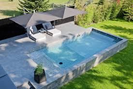 amenagement autour piscine hors sol die besten 20 piscine semi enterrée beton ideen auf pinterest