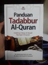 buku panduan be buku panduan tadabbur al quran toko muslim title