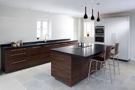 Contemporary Walnut Kitchen Cabinets - walnut kitchen home design interior and exterior spirit