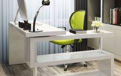 Computer Desk White Gloss 15 Photo Of Computer Desk Uk