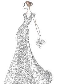jennifer aniston u0027s wedding dress designer sketches wedding