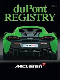 dupont registry dupont registry march 2016 dupont registry gear