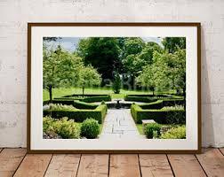 garden wall art etsy