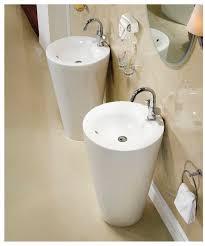 modern pedestal sinks for small bathrooms modern pedestal sink contemporary pedestal sink ferrara bathrooms