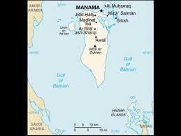 map of bahrain bahrain map