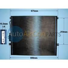 2003 jeep grand radiator air con condensers air con radiators auto air conditioning parts