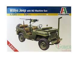 jeep tamiya italeri 6351 1 24 u s jeep willys mb with m2 machine gun