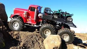 rc adventures muddy tonka dump truck stomping grounds