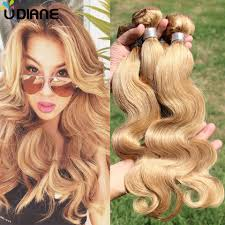 honey weave tissage wave hair weave 3pcs honey