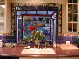 Mexican Tile Kitchen Ideas South Wesst Kitchen Tile Designs Has A Great Use Tile Talavera