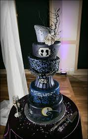 nightmare before christmas cake decorations nightmare before christmas wedding cake pictures elite wedding looks