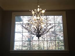 Entryway Chandeliers Foyer Chandelier Branch Of Light Design Joshua Marshall Home