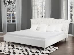 Schlafzimmer Betten Mit Bettkasten Lederbett Weiss Lattenrost 180 X 200 Cm Bettkasten Metzab Fabrik