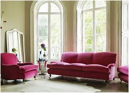 furniture grey velvet couch with chest and area rug for living