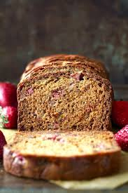 strawberry greek yogurt banana bread recipe u2014 dishmaps