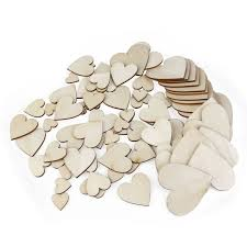 popular craft wooden hearts buy cheap craft wooden hearts lots