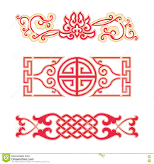 ornaments of china style stock vector image of luck 73826882