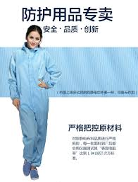 Clothes Anti Static Spray 2017 Wholesale Jumpsuit Antistatic Clothing Garment Of Clean Room