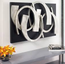 metal wall design modern living contemporary wall decor for living room all modern wood