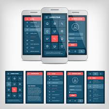 mobile app design gallery android ui pinterest android