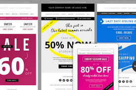4 sales e mail newsletter templates email templates creative