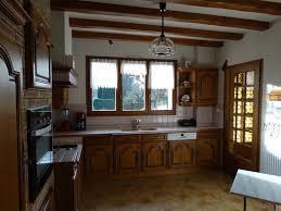 cuisine rustique chene élégant renovation cuisine rustique chene cdqgd com