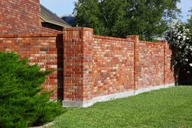 Brick Wall Fence Designs Home Design Ideas - Brick wall fence designs