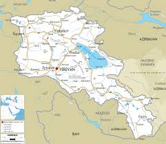 Map Of West Asia by Map Of Armenia Travel