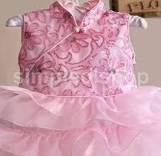 dress anak dress zoe dress asli dress anak perempuan zoe cheongsam
