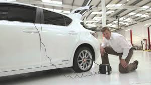 lexus ct200h tires lexus how to use a tyre repair kit youtube