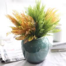 Imitation Plants Home Decoration Online Get Cheap Fern Leaf Aliexpress Com Alibaba Group