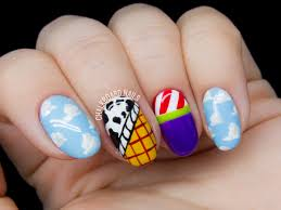 you u0027ve got a friend in me toy story nail art chalkboard nails