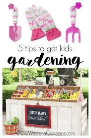 5 tips to get kids gardening western garden centers