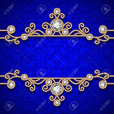 vintage gold frame ornamental jewelry background royalty free