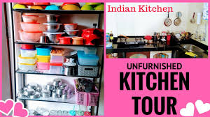 Kitchens Without Cabinets My Small Kitchen Organization Indian Kitchen Tour Organize