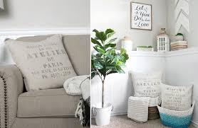 joanna gaines fabric pillows decorative pillows flax fabric