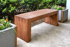 Easy Wood Bench Plans by Williams Sonoma Inspired Diy Outdoor Bench Woods And Modern