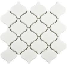 Home Design 9 X 10 by Merola Tile Metro Lantern Matte White 9 3 4 In X 10 1 4 In X 6