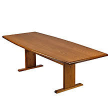 Oak Meeting Table Lesro Solid Oak 8 Boat Shape Conference Table Officefurniture