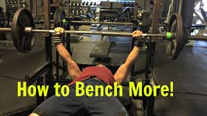 how to increase the barbell bench press underdog strength