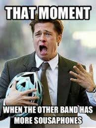 Ahh Meme - true haha me and my tuba buddy s every time just like ahh they re