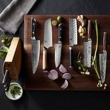 asian kitchen knives shun premier 7 asian chef s knife williams sonoma