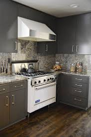 Kitchen Cabinet Wood Stains - incredible kitchen cabinet makeover from blond wood to gray with