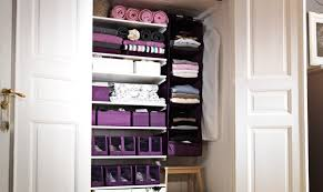 Storage Ideas Small Apartment Apartments The Overwhelming White Wooden Material With Purple