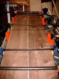 table top glue up occasional woodworking build first blog second