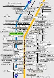 las vegas blvd map boulevard supply location