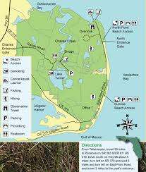 Florida Map Beaches by Bald Point State Park On Alligator Point Beaches Things To Do