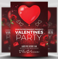 valentines flyer template s day flyer templates for photoshop flyerheroes