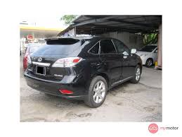 2011 lexus rx 350 used for sale 2011 lexus rx350 for sale in malaysia for rm129 000 mymotor